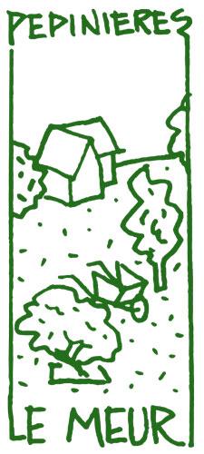 logo pepinieres le meur