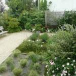 petit jardin clos à Concarneau
