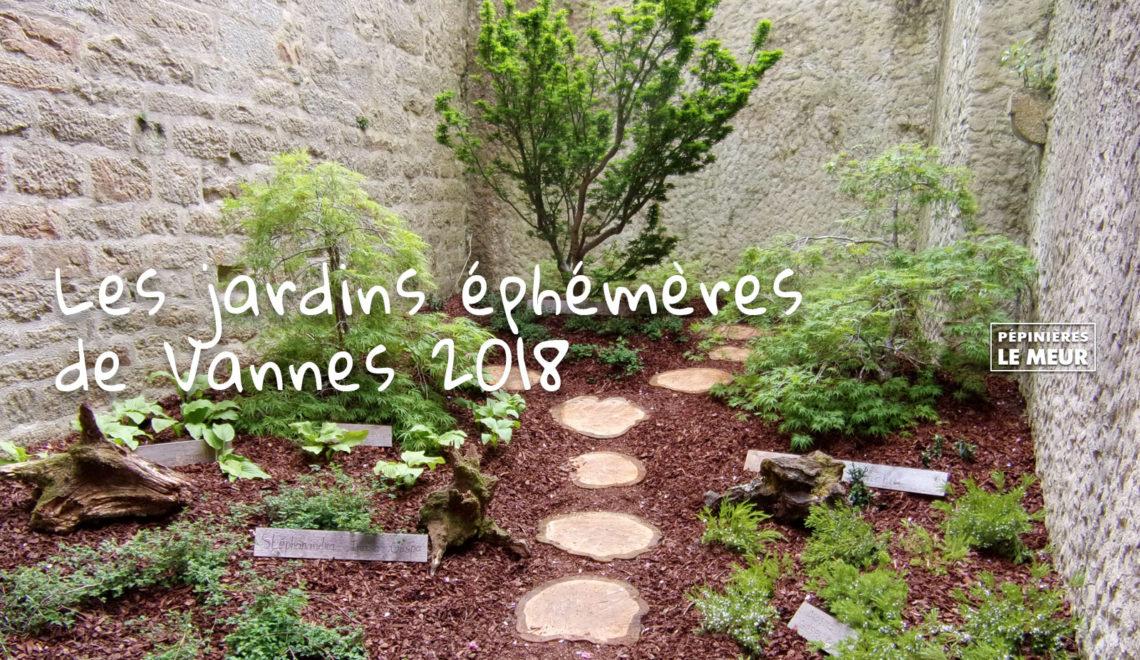 jardins éphémères de vannes 2018 pépinières le meur